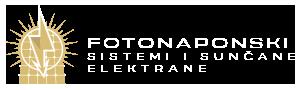 Sunčane elektrane – Fotonaponski sistemi Logo